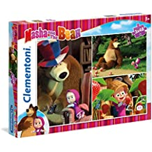 Clementoni - Puzzle 3x48, Masha and the Bear (252022)