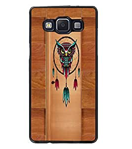 PrintDhaba Owl D-3352 Back Case Cover for SAMSUNG GALAXY A5 (Multi-Coloured)