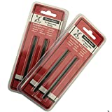4x 82mm TCT cuchillas de cepilladora para Makita Dewalt Bosch, Trend CR/pb29, Makita D-07945–, 2unidades