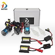 DEC LED H1 6000K 12V / 55W Xenon HID Lámparas Kit de conversión de faros para el coche de reemplazo de vehículos Bulbo - 1 par