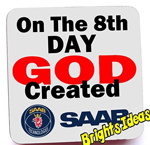 on-the-8th-day-god-created-saab-coaster-coffee-tea-mug-from-our-coasters-range-a-unique-fathers-day-