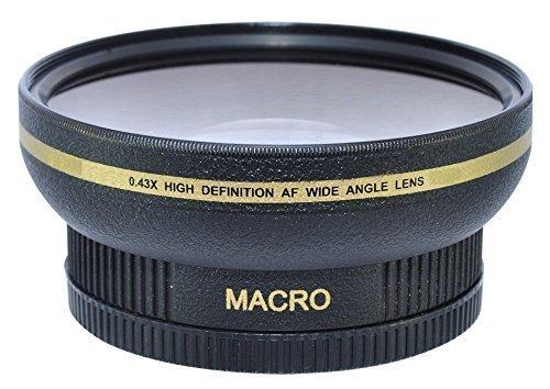 Power^UP 72MM (72 mm) Grandangolare Macro Convertitore Obiettivo per Canon, Carl Zeiss, Fujifilm, Nikon, Panasonic, Pentax, Olympus, Samsung, Sigma, Sony, Tamron, Tokina Obiettivo
