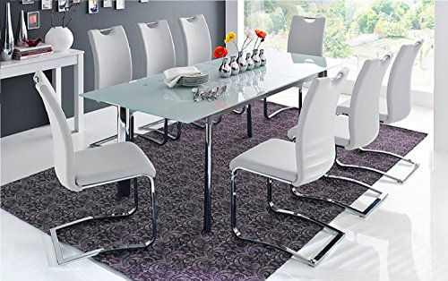 set-of-4-modern-elegant-koeln-pu-leather-chrome-swinging-dining-chairs-in-a-choice-of-4-colours
