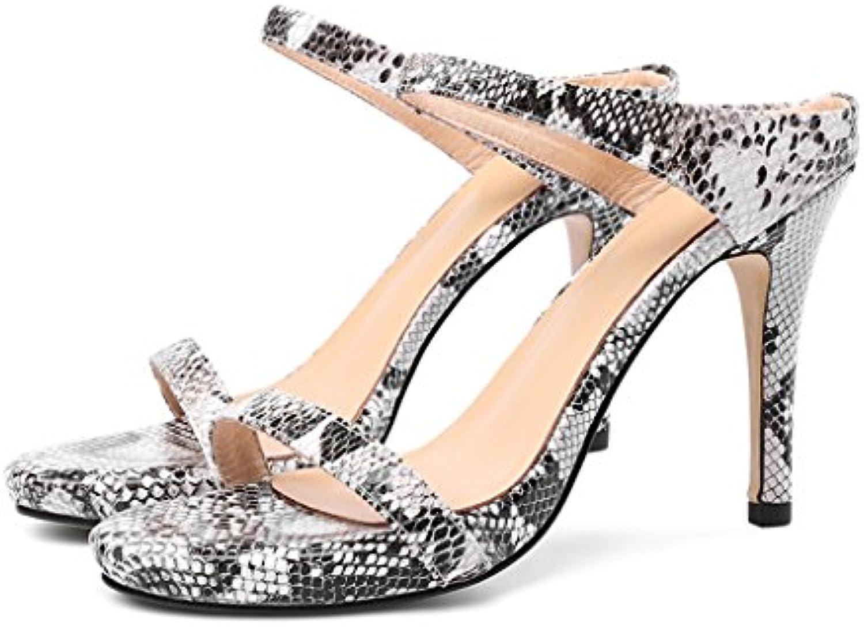YMFIE Sandalias de Tacón de Cuña Cómodas de la Moda de Las Mujeres Sandalias de Las Sandalias Antideslizantes... -