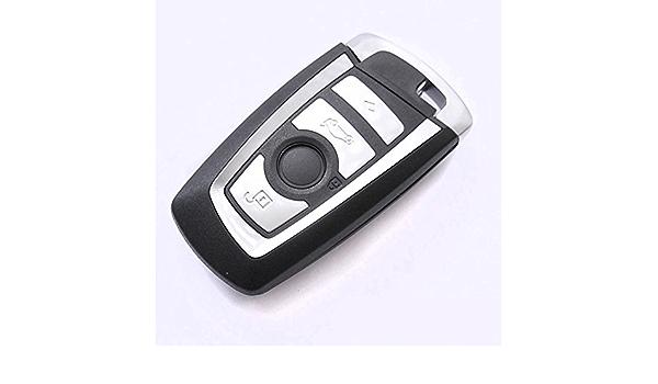 Auto Schlüssel Smartkey Funk Fernbedienung Sender 4 Tasten Gehäuse Notschlüssel Rohling Für Bmw