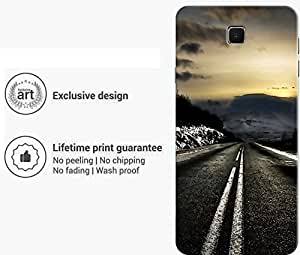 """Humor Gang long unknown road Printed Designer Mobile Back Cover For """"Meizu M3 Note"""" (3D, Matte Finish, Premium Quality, Protective Snap On Slim Hard Phone Case, Multi Color)"""
