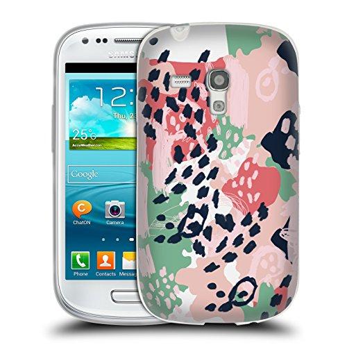Head Case Designs Offizielle Charlotte Winter Brooke Abstrakt Soft Gel Hülle für Samsung Galaxy S3 III Mini (Mini Brooke)