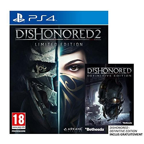 Dishonored 2 Limited Edition Jeu PS4 (Dishonored Special Edition)