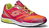 Lotto Moonrun III W, Zapatillas de Running Mujer, Rojo (Ger / Red Fl), 39 EU