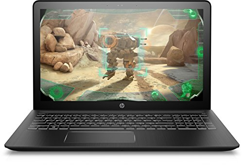 HP Pavilion Power 15-cb016ng (15,6 Zoll / Full HD IPS) Gaming Laptop (Intel Core i7-7700HQ, 1TB HDD, 128GB SSD, 8GB RAM, NVIDIA GeForce GTX 1050 2GB DDR5, Windows 10 Home) Schwarz