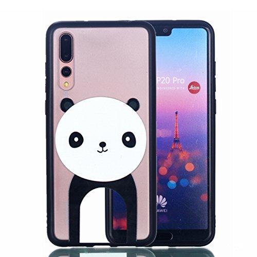 Lohpe Case Huawei P20 Pro Silicone Case Mince 2 en 1 Avancée TPU Cas Transparent Téléphone Case Huawei P20 Pro Cas Slim TPU En Relief Motif + porte-clés(S) (7) par  Lohpe