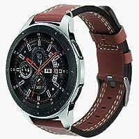 Compatible con Samsung Galaxy Watch Diadia, Correa de Piel de Lujo para Reloj Samsung Galaxy Watch 46 mm