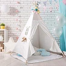 PB PEGGYBUY Tienda India Tipi, Tienda Campaña Infantil para niños/ Casa de Juego (