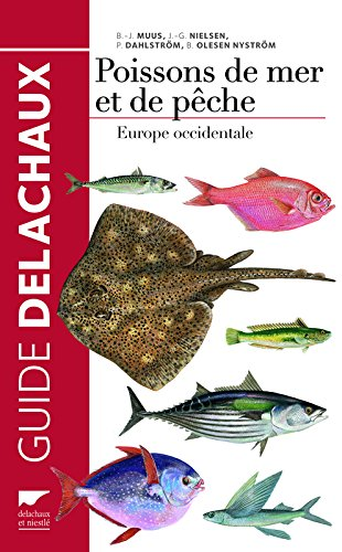 Poissons de mer et de pêche. Europe occidentale