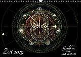 Zeit 2019 - Grafiken und Zitate (Wandkalender 2019 DIN A3 quer): Computergrafiken und Zitate aus vielen Jahrhunderten zum Thema