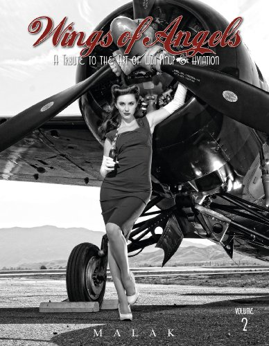 Wings of Angels: A Tribute to the Art of World War II Pinup & Aviation Vol.2 por Michael Malak
