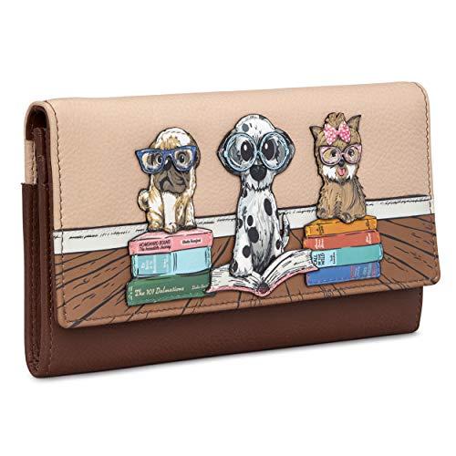 Yoshi Bookhound Gang-Geldbörse aus echtem Leder