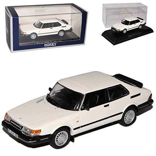 saab-900-turbo-16-weiss-coupe-1991-generation-1978-1994-1-43-norev-modell-auto