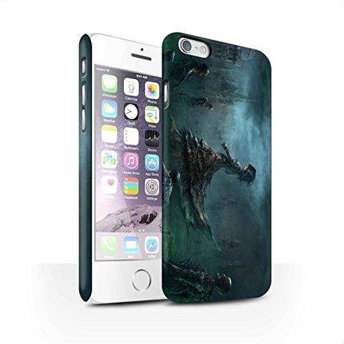 Offiziell Chris Cold Hülle / Matte Snap-On Case für Apple iPhone 6 / Pack 5pcs Muster / Unterwelt Kollektion Banshee/Hexe-Königin