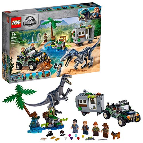 LEGO Jurassic World - L'affrontement du baryonyx : la chasse au...