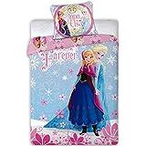 Disney Frozen La Reine des Neiges Parure de lit bébé 100x 135cm (certifié Öko-Tex Standard 100)