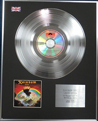 Century Music Awards Rainbow Platin-CD, Limitierte Auflage, Regenbogenfarben Platin-musik
