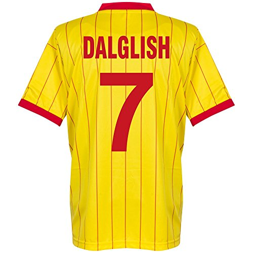 1982 Liverpool Away Retro Trikot + Dalglish 7 - S