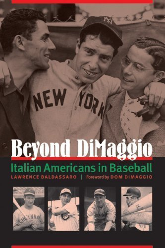 Beyond DiMaggio: Italian Americans in Baseball 0th edition by Baldassaro, Lawrence (2013) Paperback