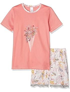 Calida Mädchen Zweiteiliger Schlafanzug Flower Power Pyjama Kurz