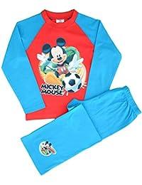 Disney - Ensemble de pyjama - Manches Longues - Garçon Bleu Bleu