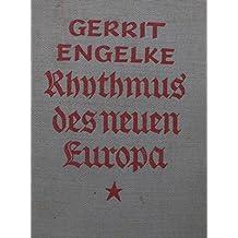 """Rhythmus des neuen Europa. Gedichte. 5.-6. Tsd. Mit einem Text von Jakob Kneip """"Machklang"""". """"Ihr lieben Deutschen! Die Dichtungen, die hier vor Euch liegen, sind der Nachlaß eines gefallenen Soldaten. Die ersten Korrekturbogen waren zu ihm unterwegs, als die Kugel ihn traf...""""."""
