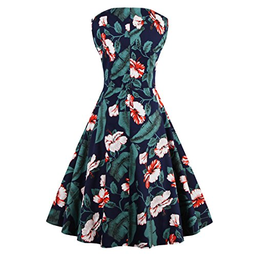 Dissa M128318D Robe de bal Vintage pin-up 50's Rockabilly robe de soirée cocktail,S-XXXXL 3