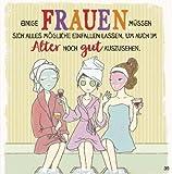 Geburtstagskarte mit Musik 3868-039f  Frauen im Alter