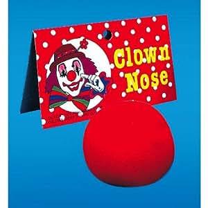 Nez de clown en mousse
