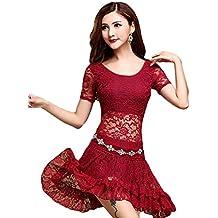 YiJee Danza de la India Costume Set Danza del vientre Tops & Mini Falda