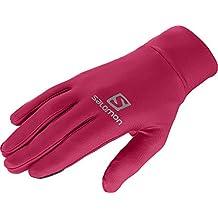 Salomon guantes Active Gloves U, unisex, color Lotus Pink, tamaño XL