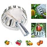 Cueilleur de Fruits en Métal de Haute Altitude de Jardin Portable Multifonctionnel...