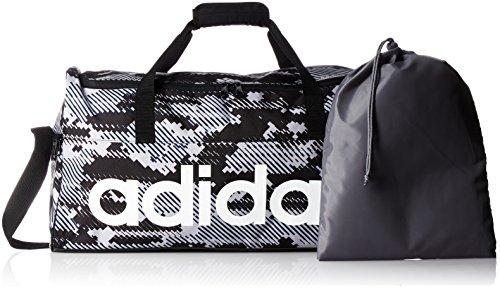 adidas Performance Sporttasche Grey/Grivis/Negro/Blanco