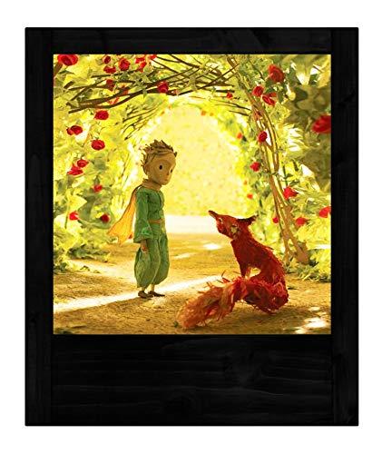 Lampe schwarz klein Prinzessin Rosen (Datei-erweiterung Kleine)