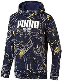 9c81bcfe0e Puma Jungen Alpha AOP Hoody FL B Pullover