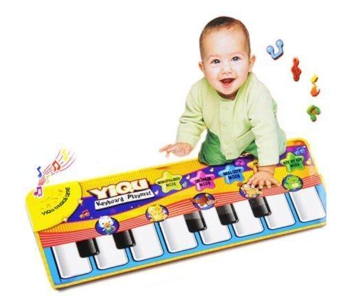 Preisvergleich Produktbild Neu Musical Musik Kind Klavier Spielen Baby Matte Tier Pädagogische Weich Kick Spielzeug Geschenk