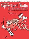 Superstart Violin: (accompaniments) (Faber Edition: Superstart)