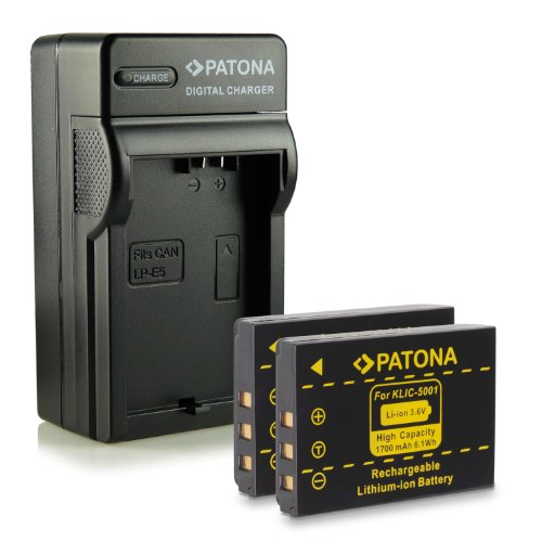 bundle-4in1-caricabatteria-2x-batteria-klic-5001-per-kodak-easyshare-dx6490-dx7440-dx7590-dx7630-p71