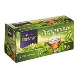 Meßmer Pfefferminze frisch-würzig 25 Teebeutel - 12 Packungen