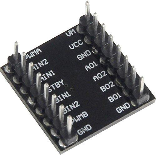 Joy-IT Raspberry Pi® Erweiterungs-Platine Schwarz sbc-motodriver1 Raspberry Pi®, Raspberry Pi® 2 B, RASP