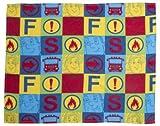Unbekannt Feuerwehrmann Sam Fleecedecke