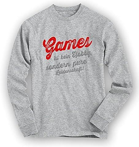 Games #1 Sweatshirt | Game-Pullover | Gamer | Zocken | Unisex | Sweatshirts © Shirt Happenz,