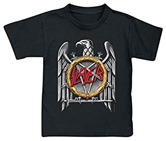 Slayer (Silver Eagle): Kids T-Shirt, schwarz, Gr. 92