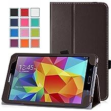 MoKo–Funda fina y plegable para Tablet Samsung Galaxy Note Pro 12.2, Tab 3Lite 7, Tab 47.0, Tab 48.0, Tab 410.1, Tab Pro 8.4, Tab Pro 10.1 marrón marrón para Galaxy Tab 4 8,0