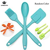 #5: Classvilla Silicone Spatula Brush Set | Big Size | BBQ | Pastry | Oil Butter Brush | Utensil use for Grilling & Marinating - Desserts Baking | Set of 2